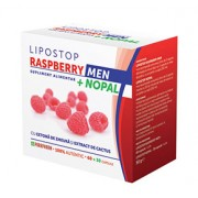LipoStop Raspberry Men + Nopal, 60+30 capsule