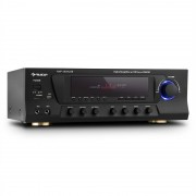 Auna AMP-3800 Amplificador USB 5.1 Canais Surround USB SD FM 600W Preto