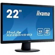 IIYAMA 21.5 inch Monitor LED Backlit X2283HS-B3