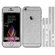 Toeoe Bling Crystal Diamond Screen Protector Film Sticker for iPhone SE 5/5S - Silver