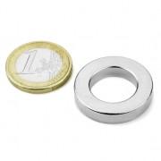 Magnet neodim inel, diametru 27/16 mm, putere 8,3 kg