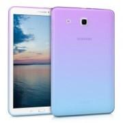 kwmobile Průhledné pouzdro pro Samsung Galaxy Tab E 9.6 - fialová