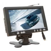 "7"" LCD monitor s BNC a Phono vstupom a reproduktormi"