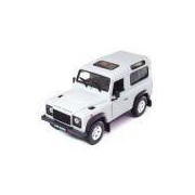 Miniatura Land Rover Defender Branca 1:24 Welly