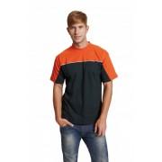 EMERTON Póló fekete/narancs