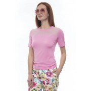 Escada T-shirt Rosa Viscosa Donna