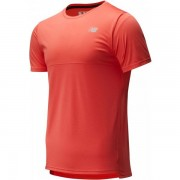 New Balance Accelerate Shirt Men - Male - Rood - Grootte: Large