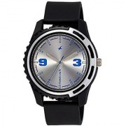 Fastrack Analog Silver Round Watch -3114PP02