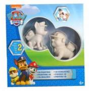 Set de pictura Disney Nickelodeon Paw Patrol Picteaza-ti personajele preferate Chase si Rubble