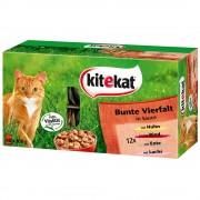Pack Ahorro: Kitekat sobres herméticos 48 x 100 g - Picnic en el campo en salsa