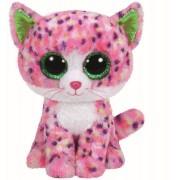 Jucarie de plus TY 15 cm - Boos Sophie Pisica roz