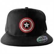 Captain America Shield Snapback Cap