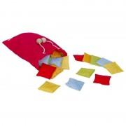 Joc de memorie cu texturi Pernitele Goki, 5 x 5 cm, 20 pernite textile