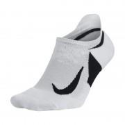 Nike Elite Cushioned No-Show Laufsocken - Weiß
