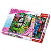 Trefl: Disney hercegnők - Csipkerózsika 200 darabos puzzle