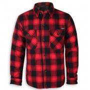 bunda pánská BRANDIT - Lumberjacket checked - 9478-red/black checkered