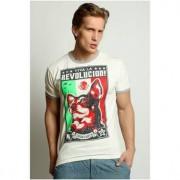 Epatage Стильная футболка из мягкого хлопка бежевого цвета Epatag RT050372m-EP