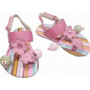 Sandale fete 365183AS roz 24 Primii Pasi