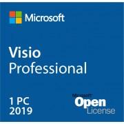 Microsoft Visio 2019 Professional Open License multilingue