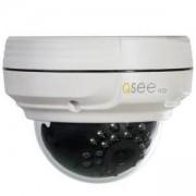 Водоустoйчива куполна IP камера Q-See, Мрежова, 3.0MP, 1/3 CMOS, 3.6мм, IR-20м, Бяла, QTN8038D