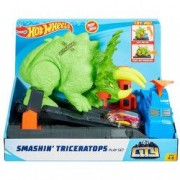 Set de joaca Hot Wheels City - Smashin Triceratops