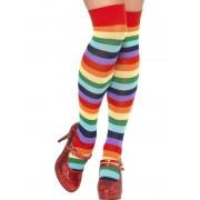 Ciorapi petrecere 3/4 colorati