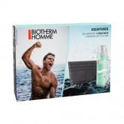Biotherm Homme Aquapower Oligo Thermal Care set cadou Gel hidratant pentru barbati 75 ml + portcard de vizita pentru bărbați