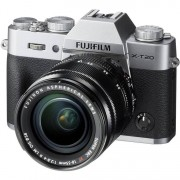 Fujifilm X-T20 + 18-55mm F/2.8-4 XF R LM OIS - Argento - 2 Anni Di Garanzia IN ITALIA