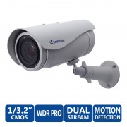 CAM, GeoVision GV-UBL2401-1F, IP камера, 2 Mpix, WDR Pro, Ultra Bullet, 4 мм обектив, H.264, PoE