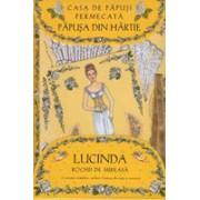Casa de papusi fermecata - Papusa din hartie Lucinda - Cu rochii de mireasa