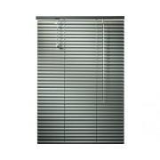 Jaluzea din aluminiu, argintie, 140x160 cm