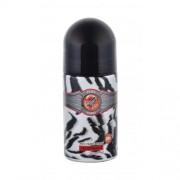 Cuba Cuba Jungle Zebra 50 ml dezodorant roll-on pre ženy