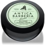 Mondial Antica Barberia Pluminio Balsamico cremă pentru bărbierit 125 ml