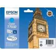 Epson 70324010 Tintapatron Workforce Pro 4000, 4500 sorozat nyomtatókhoz, EPSON kék, 9,6 ml eredeti