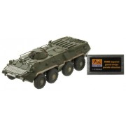 Easy Model Russian BTR-80 APC USSR Imperial Guard Troops Parade Situation Die Cast Military Land Vehicles