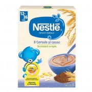 Cereale Nestle - 8 cereale Junior 250g