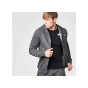 Tru-fit hoodie met rits - S - Charcoal