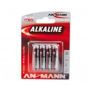 Ansmann LR03 AAA RED baterie alcalina 1,5V (BL4)