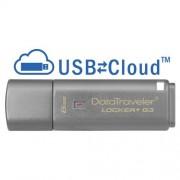 Kingston 8Gb 3.0 Dtlpg3 W/Hardware Encryption, Usbtocloud