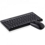 RAPOO 8000 Безжичен комплект клавиатура с мишка, Черен - RAPOO-12755