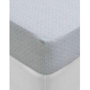 PiP Studio - ekskluzywne pościele Hladké prostěradlo, luxusní prostěradlo z hladkého úpletu, 100% bavlna, prostěradlo s gumičkou, květinové vzory, PiP Studio - 90x200