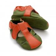 Sandale cu talpa moale Liliputi Atacama Green