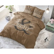 Dreamhouse Mr and Mrs Right 2 White Wit 140 x 220
