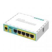 Рутер MikroTik hEX PoE lite, 5x LAN 10/100, 64MB RAM