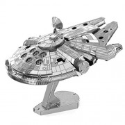 Metal Earth Star Wars Jigsaw Millennium Falcon 3D Laser Cut Model Kit