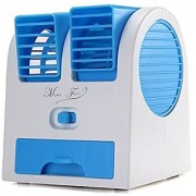 Fan With Cooling water tray MINI WATER COOLER ( COLOR WILL BE SEND RANDOMLY )
