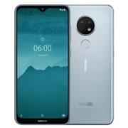 "Telefon Mobil Nokia 7.2, Procesor Octa-Core 2.2GHz/1.8GHz, IPS LCD Capacitive touchscreen 6.3"", 4GB RAM, 64GB Flash, Camera Tripla 48+8+5MP, 4G, WI-FI, Dual Sim, Android (Argintiu) + Cartela SIM Orange PrePay, 6 euro credit, 6 GB internet 4G, 2,000 minute"