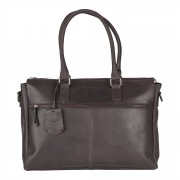 Burkely On The Move Laptopbag Zipper Brown 15 inch