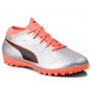 Обувки PUMA - One 4 Syn Tt Jr 104785 01 Silver/Orange/Black