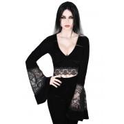 tričko dámské s dlouhým rukávem KILLSTAR - Naomi - KSRA000897